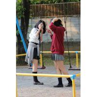 制服女子校生達の放課後風景 File090