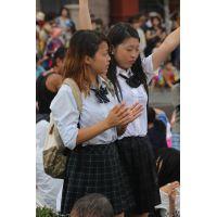 制服女子校生達の放課後風景 File105