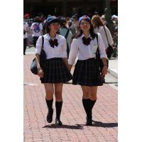 制服女子校生達の放課後風景 File098