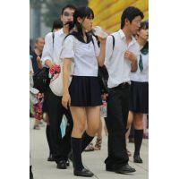 制服女子校生達の放課後風景 File041
