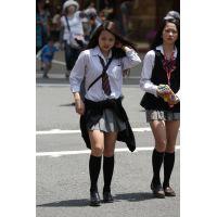 制服女子校生達の放課後風景 File049
