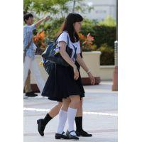 制服女子校生達の放課後風景 File088