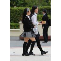制服女子校生達の放課後風景 File084