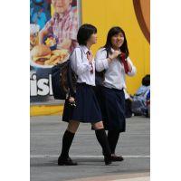 制服女子校生達の放課後風景 File093
