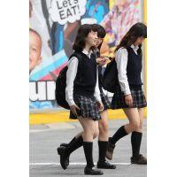 制服女子校生達の放課後風景 File085