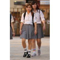 制服女子校生達の放課後風景 File111