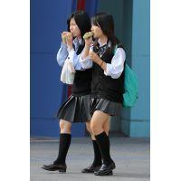 制服女子校生達の放課後風景 File087