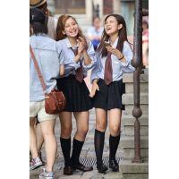 制服女子校生達の放課後風景 File102