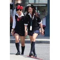 制服女子校生達の放課後風景 File035