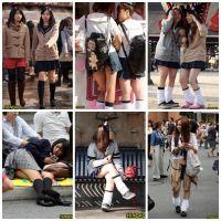 制服女子校生達の放課後風景 File002
