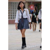 制服女子校生達の放課後風景 File110