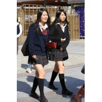 制服女子校生達の放課後風景 File019