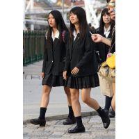 制服女子校生達の放課後風景 File043