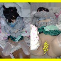 監禁C-4 生中出しギチギチ 拘束人形 (顔出)