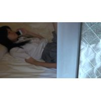 ★★★隣のマンションのJCちゃんがスマホでオナニー、、、盗撮★★★