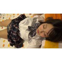 【悪友ver】■モデル募集〜特製ジュース〜寝込み悪戯■スキームで、巨乳の制服娘をハメ撮り