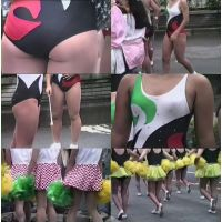 パレードのチアガール(レオタード編)