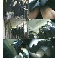 【校内】靴・カバンカメラにてJC逆さ撮り!!!