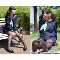 Sakiko#9/セーラー服&黒ストッキング