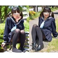 Sakiko#7/セーラー服&黒タイツ