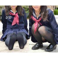 JK・Moe#2・セーラー服&黒タイツ