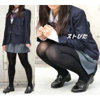JK・Moe#5・黒タイツ110デニール