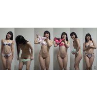 下着撮影85-1★隠し撮り★★パンツ★★ブラジャー★★ちっぱいパイパンほんわかほっそり娘★