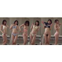 下着撮影95-1★アニメ声が可愛くて、美乳で、エロ顔★★隠し撮り★★パンツ★★ブラジャー★★