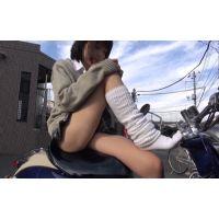 【天誅】DQNカップルJKを盗撮 リベンジパンチラ【復讐】