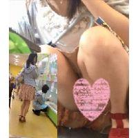 【追っかけパンチラ】JK6