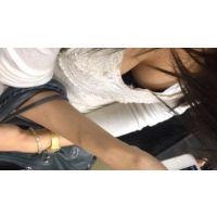 【HD】胸チラ動画028