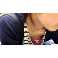 【HD】胸チラ動画019 Bチラあり