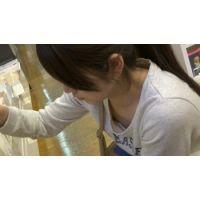 【フルHD】リアル胸チラハンターvol.308