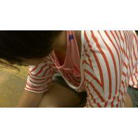 【フルHD】リアル胸チラハンターvol.596