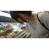 【フルHD】リアル胸チラハンターvol.1027