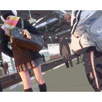 七福神【HD】ギャル・JK追っかけパンチラオススメ-19