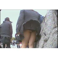 女子校生のスカートの中身がバッッチリ!今時JKの下半身事情まるわかりNO-4