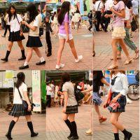 ポコちゃんの街撮りJK写真集