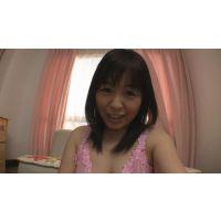 [若妻] Fカップ 愛(仮名) 自画撮りオナニー!単身赴任の夫に贈ったプライベートビデオ、流出。