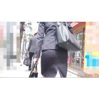 【FHD 60p】女子大生のお尻30(リクルートスーツの小柄JD)