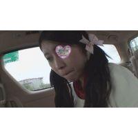 [個人撮影]可愛い妹と高速道路のPで弄ってチ○ポを舐めさせて生チンで妹マ○コに挿入[近親]