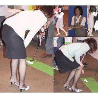 制服OLイベントでタイトスカート張り詰めるくらい大張り切り画像