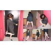 リクルートスーツ女子大生素人画像