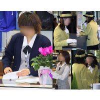 制服OL販売員とイベントコンパニオン制服画像街撮り!