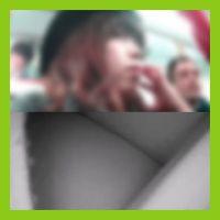 tikan003,春休みで混んでる電車で女子○生のお尻を丸出しにして来ましたー!
