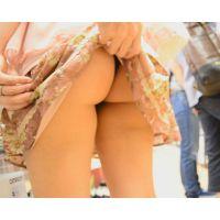 【セット販売】ロリータ美少女Tバックパンチラ フリフリスカートをめくってプリプリヒップを触りまくり!!