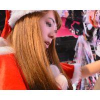 【セット販売】かわいいサンタ店員が接客しながらパンツまる見え!!お尻も触ってみた!!