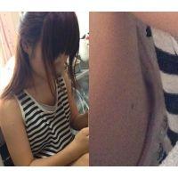 【個人撮影】乳首丸見え、無防備な妹を盗撮しました。