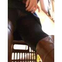 【フルHD】靴カメ君が行くPart87【黒パンスト・スカートめくり編】