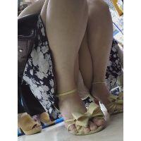 【フルHD】靴カメ君が行くPart361-C【ミニスカワンピJDちゃんしゃがみ撮り編】